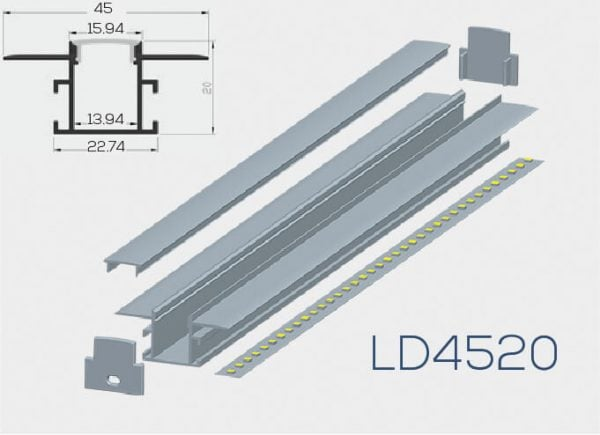 Albalight LED Strip Light LD4520