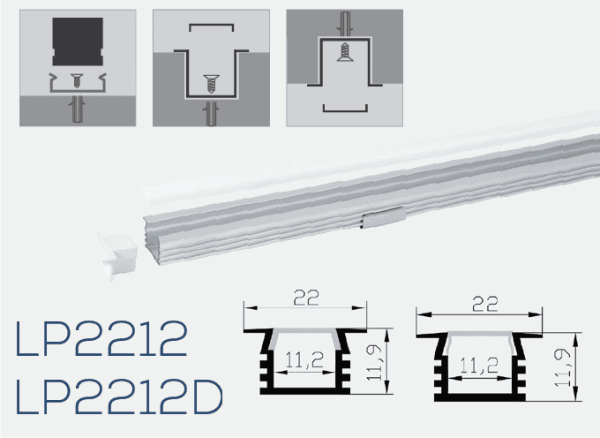 Albalight LED Strip Light LP2212 LP2212D