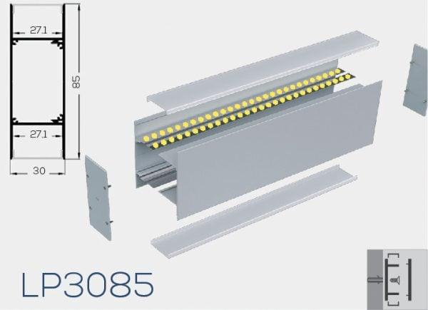 Albalight LED Strip Light LP3085