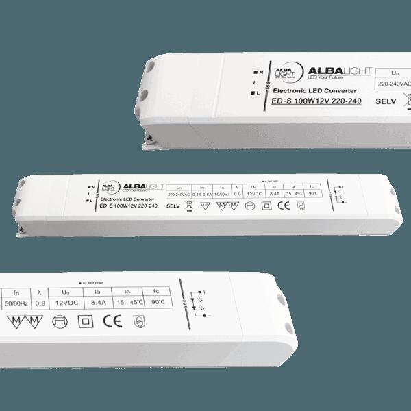 Albalight Transformator LED ED S 100W12V 220 240