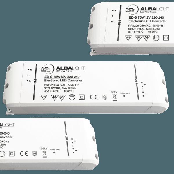 Albalight Transformator LED ED S 75W24V 220 240