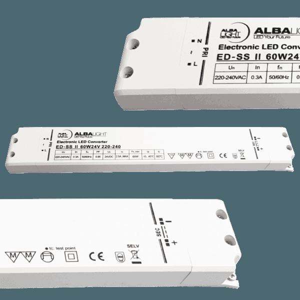 Albalight Transformator LED ED SS II 60W24V 220 240