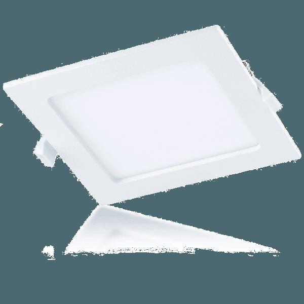 LED Square Slim Down Light P1212 CM NW 6W