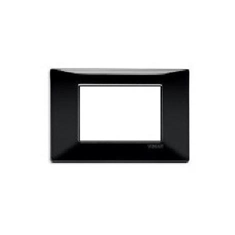 plana placca 3 moduli tecnopolimero colore nero 14653 05 P 3211308 6767424 1