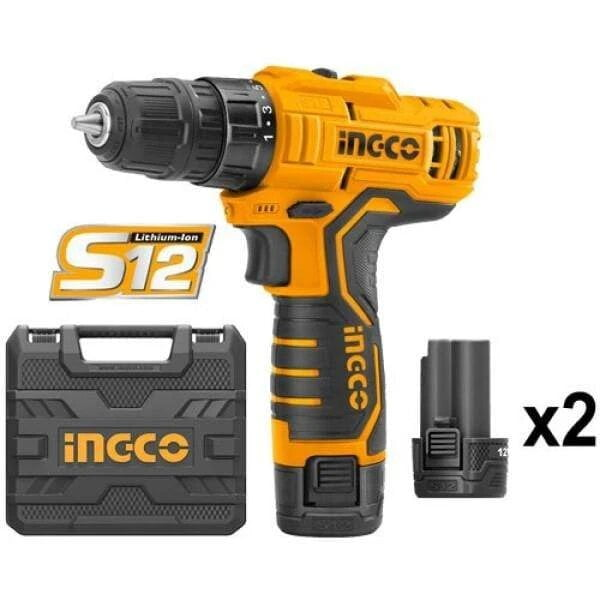 supply master tools ingco lithium ion cordless drill 12v cdli12325