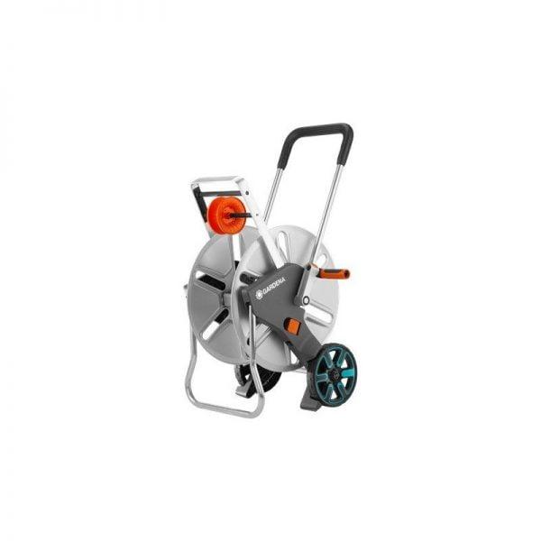 gardena hose trolley aquaroll m metal 18541 20