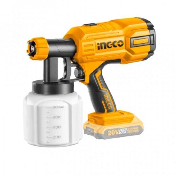 ingco csgli2001 lithium ion spray gun