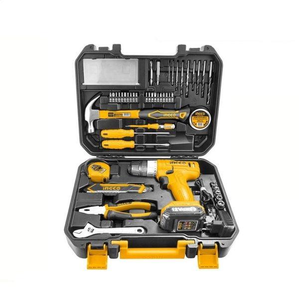 supply master tools ingco 127 pcs household tools set hkthp11271 28309267513478